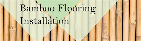 How To Installation Bamboo Flooring   TheFlooringlady