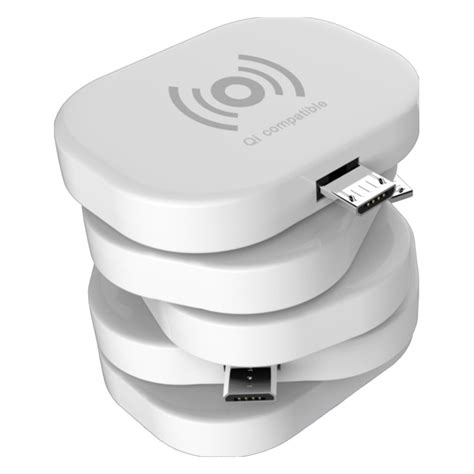 qi usb charger qi micro usb wireless charging receiver adapter