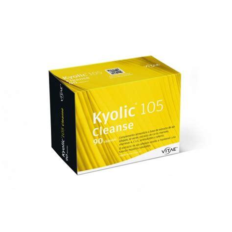 Kyolic 105 Detox by Vitae Kyolic 105 Cleanse 90 C 225 Psulas Farmacia Internacional
