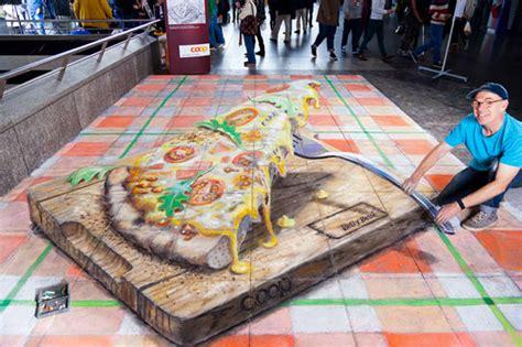 chalk paint zurich zurich pizza pavement drawing