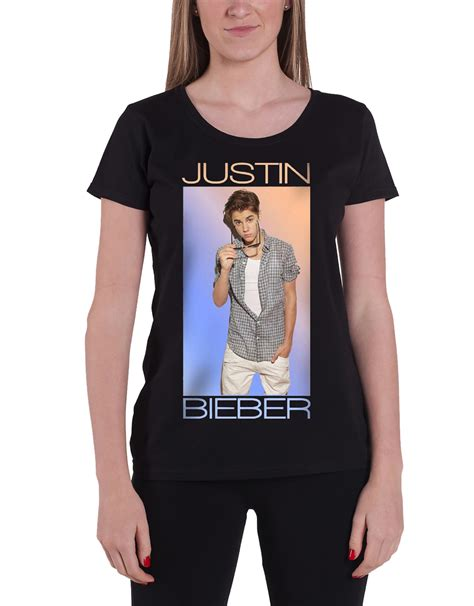 Kaos Purpose Tour Justin Bieber Yourself Premium justin bieber t shirt purpose tour photo logo new official womens fit ebay