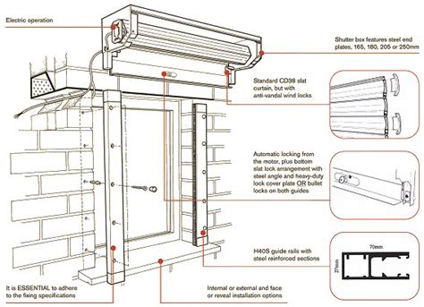 Garage Sizes Standard by Higher Security Systems Seceuroshield 3801 Roller