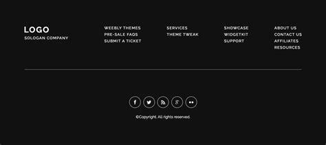 Website Footer Html Templates Best Footer Design Weebly Footer Inspiration Baamboo Studio Website Footer Template
