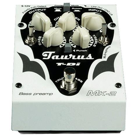 Taurus T Di Mk2 Bass Pre 1 taurus t di mk 2 bass pre di box basgitaar shop
