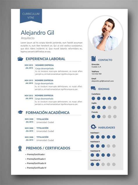 Plantillas De Curriculum Vitae Para Buscar Trabajo plantilla cv viena orientaci 243 n para el empleo