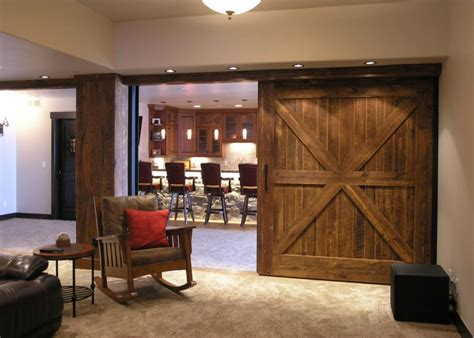 Barn Door Room Divider Enjoying Flexibility With Sliding Room Dividers