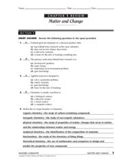 chapter 1 review matter and change section 2 chem key chemistry the physical setting answer key