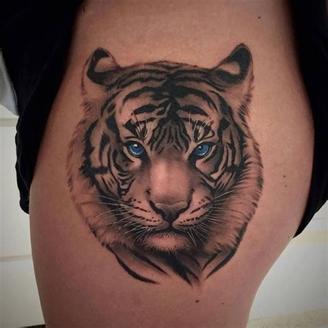 tiger eyes tattoo chronic ink toronto tiger done by