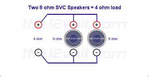 how to wire 4x 8 ohms to 4 ohms avs forum home theater