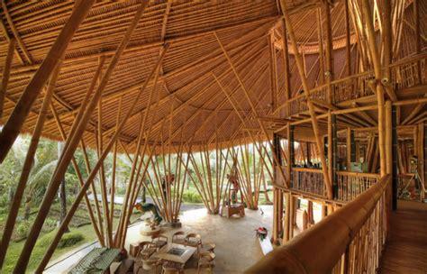 interieur sport el bomboro ibuku s stunning six story bamboo luxury homes and other