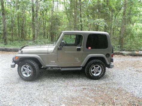 Used 2006 Jeep Wrangler Buy Used 2006 Jeep Wrangler Sport Sport Utility 2 Door 4