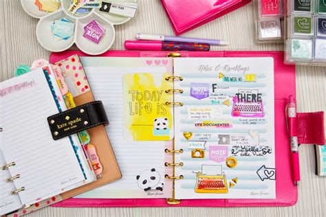 build a planner shopevalicious com how to make your own watercolor