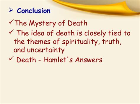themes of death in hamlet some important scenes in quot hamlet