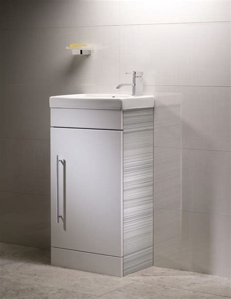 roper esta 450mm cloakroom vanity unit with basin white