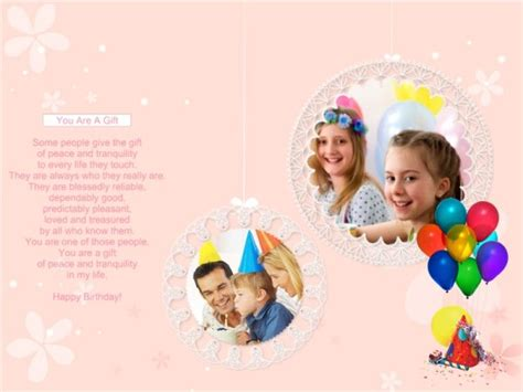 free birthday collage template image free birthday collage template