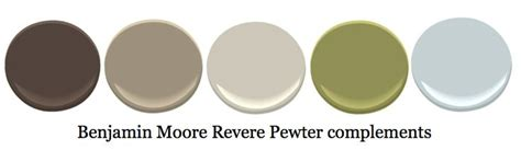 complementary colors to revere pewter wall colors pewter revere pewter and