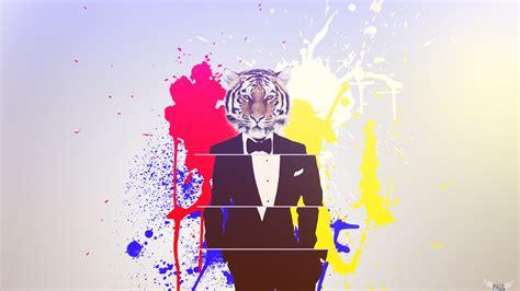 desain gambar harimau gambar wallpaper 2d terlengkap a1 wallpaperz for you