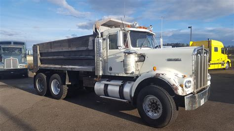 kenworth portland kenworth w900 dump trucks for sale 123 used trucks from 9 500