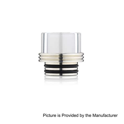 Drip Tip Mouthpiece Glass 12 5mm 810 Peerless Mage Ke Berkualitas 810 transparent glass 16mm drip tip for tfv12 tfv8 goon kennedy