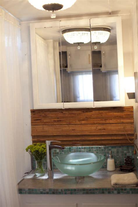 double wide bathroom remodel single wide trailer makeover trailer remodel pinterest