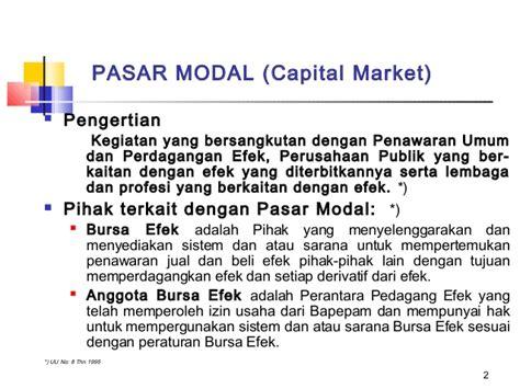 Pasar Derivatif Derivatif Market blk09 pasar modal