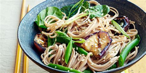 soba  miso glazed eggplant recipe