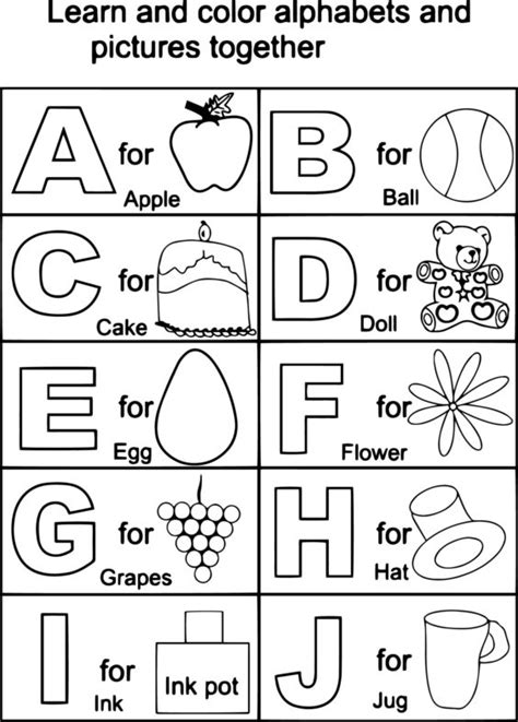 alphabet coloring book coloring book for toddlers aged 3 8 unofficial book volume 1 books coloring pages alphabet coloring pages 101 coloring pages