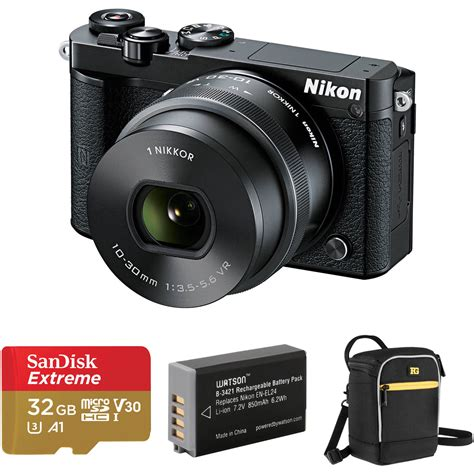 Nikon 1 J5 Kit Vr 10 30mm Silver Kamera Mirrorless Nikon nikon 1 j5 mirrorless digital with 10 30mm lens and b h
