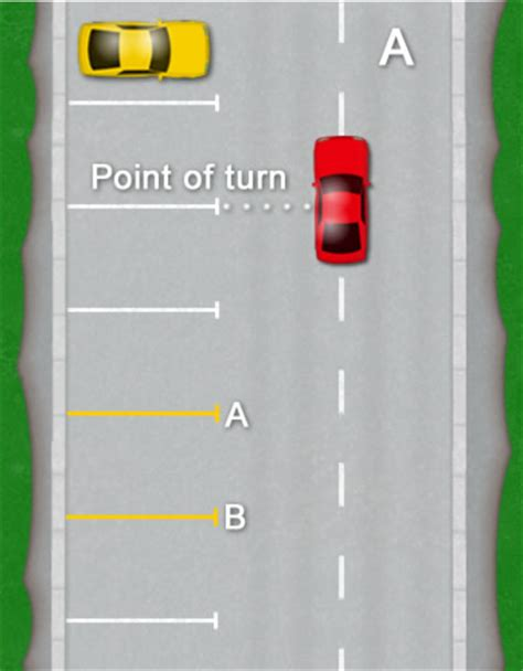 how to a bay how to park a car driving test tips