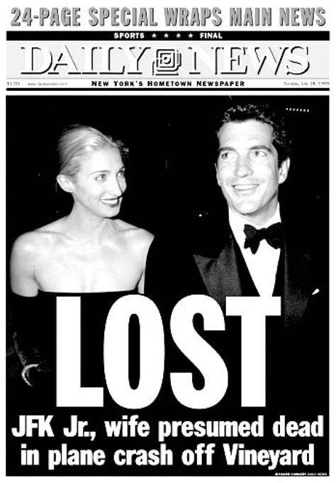 john f kennedy jr plane crash fallen son john f kennedy jr ny daily news
