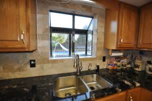Kitchen Window Backsplash Granite Countertops And Tile Backsplash Ideas Eclectic Kitchen Indianapolis By Supreme