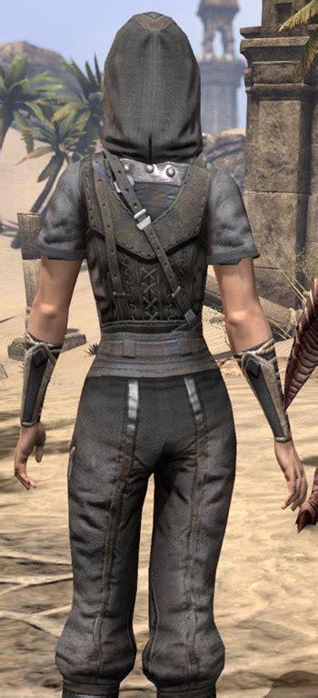 eso fashion crafty lerisas thief outfit elder scrolls