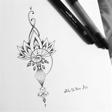 project tattoo check out this behance project quot dotwork lotus