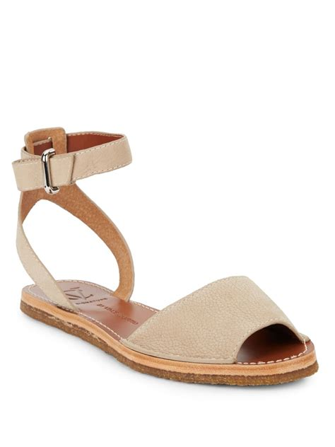 sandals signature vince camuto signature madalin pebbled leather sandals in