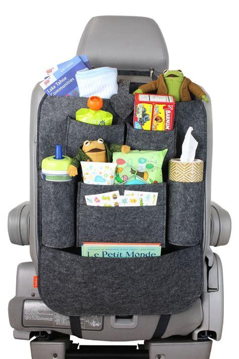 back of car seat organizer 1000 ideas about car seat organizer on car