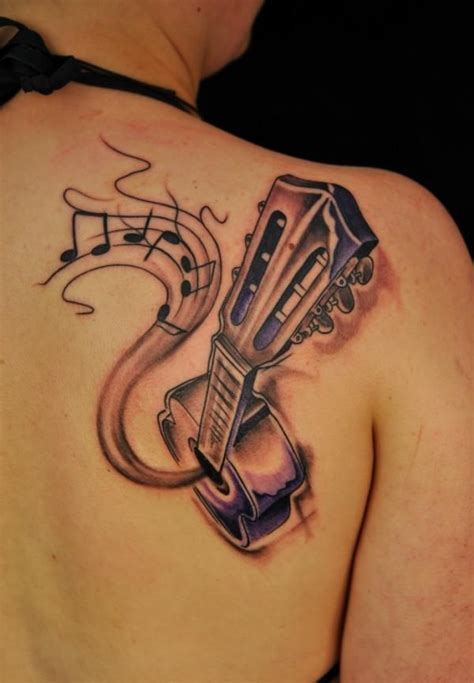 acoustic guitar tattoos designs 409 best images about ideas on tribal