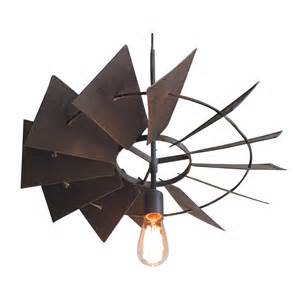 Sofas Loveseats And Sectionals Vintage Rustic Windmill Pendant Light Chairish