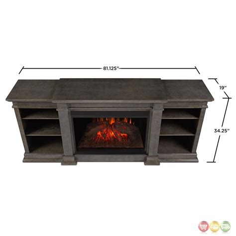 grey electric fireplace eliot grand entertainment center electric fireplace in