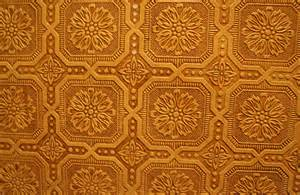 Fabric Wallpaper: Embossed Wallpaper