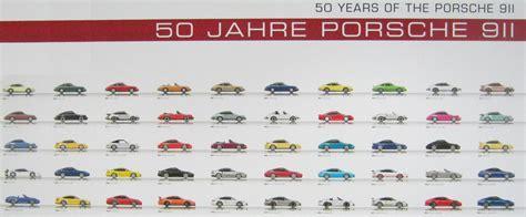 Porsche Modellreihen by 50 Jahre Porsche 911 1963 2013