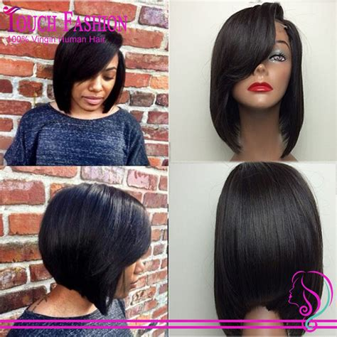 bob haircuts that cut shorter on one side layered side bangs reviews online shopping reviews on