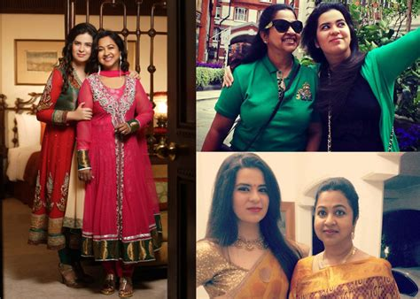 actress radhika sarathkumar daughter unseen pics radhika with her daughter rayanne