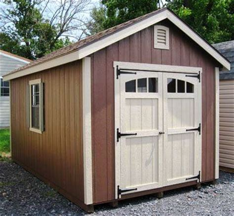 Used 10 X 12 Shed