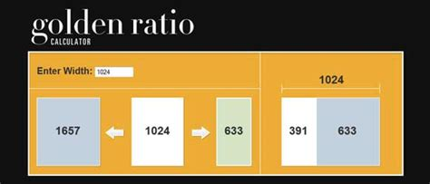 design elements for websites proportion the divine proportion golden ratio and web design relax