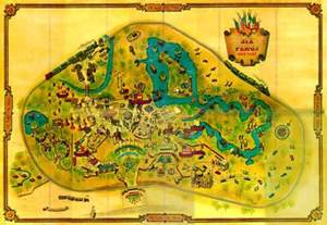 six flags arlington map back from the dead theme park map day dc s