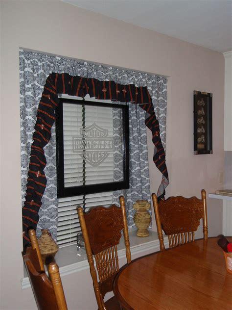 harley davidson window curtains custom harley davidson dining room curtains bb upholstery