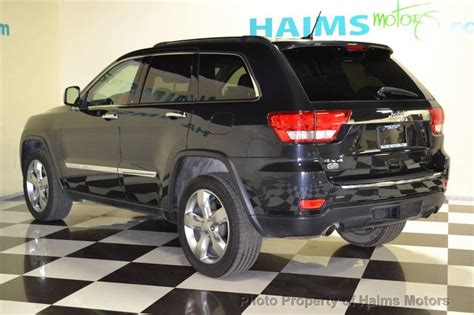 2012 Jeep Grand Overland Summit 2012 Used Jeep Grand 4wd 4dr Overland Summit At