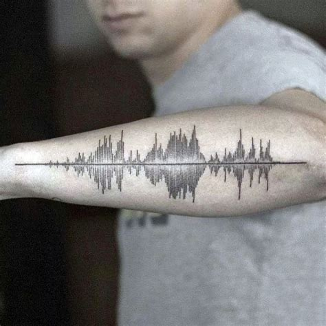 sound wave tattoo 30 soundwave designs for acoustic ink ideas