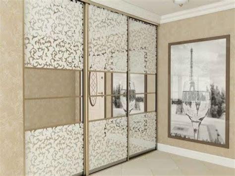 Replacing Mirrored Sliding Closet Doors Replacing Mirrored Closet Doors Wardrobe Design Closet Sliding Doors 15 Ideas