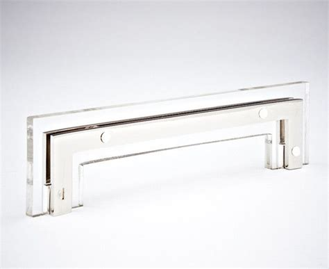 chrome and brass cabinet pulls t 01 acrylic and brass cabinet handle comes in polished